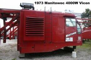 1973 Used Manitowoc 4000W