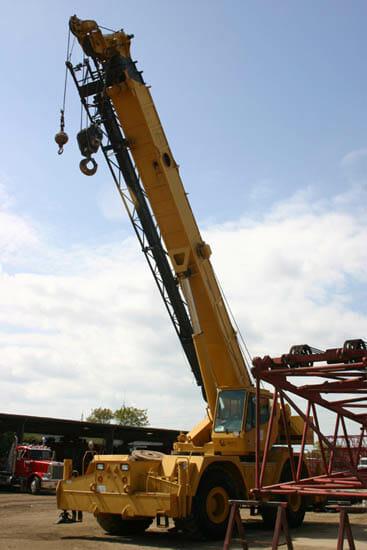 Used Grove Cranes : Grove rt used rough terrain crane for sale