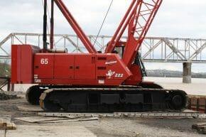 Manitowoc 222 Crawler Crane for Sale   Broderson